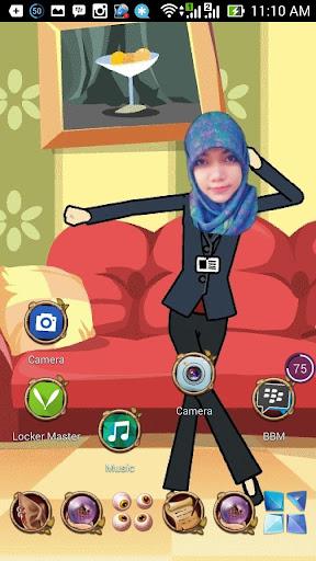 個人化必備免費app推薦|Funny cute girl Live wallpaper線上免付費app下載|3C達人阿輝的APP