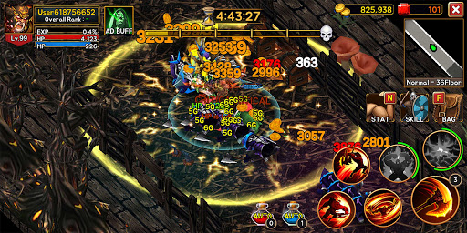 Death Dungeon : Demon Hunting RPG 1.8.51 screenshots 2