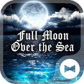 Full Moon Over the Sea Theme