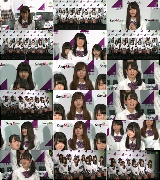 (Web)(720p) 乃木坂46 第3期生 決定スペシャル! (LINE LIVE) 160904