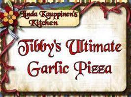 Tibby's Ultimate Garlic Pizza