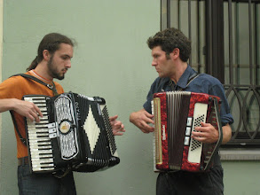 Photo: Accordian players abound