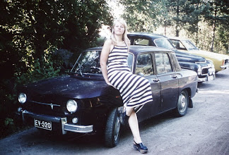 Photo: Lassen Renault 8 - kuva vuodelta 1976