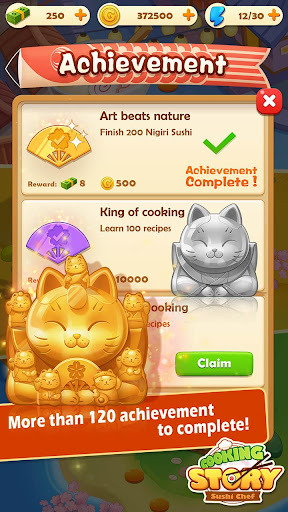 Sushi Master - Cooking story  captures d'u00e9cran 4