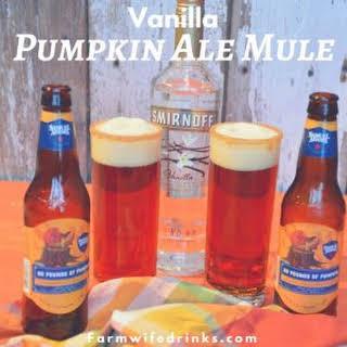 Vanilla Pumpkin Ale Mule.