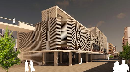 Tres proyectos aspiran a convertir el Mercado Central en un centro de ocio