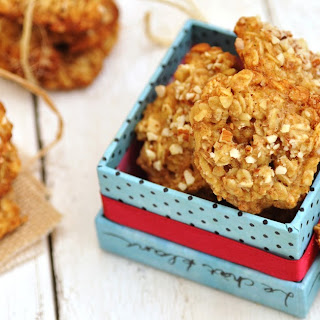 Vanilla Almond Oatmeal Cookies Recipes