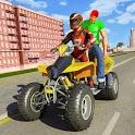 ATV Bike City Taxi Cab Simulator icon