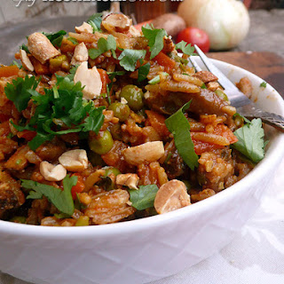 Spicy West African Fried Rice.
