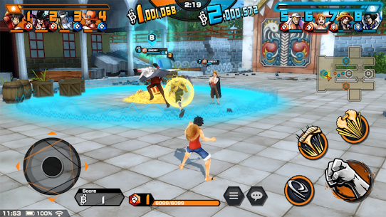 ONE PIECE Bounty Rush Mod Apk [No Skill CD + Dumb Enemy] 6