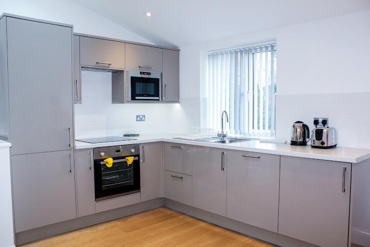 Fully equipped kitchen at West Finchley