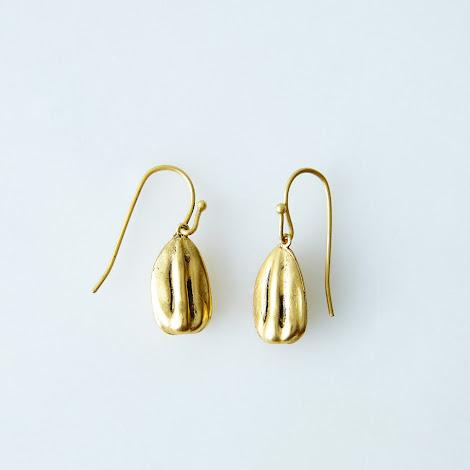Sunflower Seed Earrings