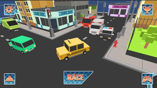 玩免費賽車遊戲APP|下載Pixels Traffic Racer 2015 app不用錢|硬是要APP
