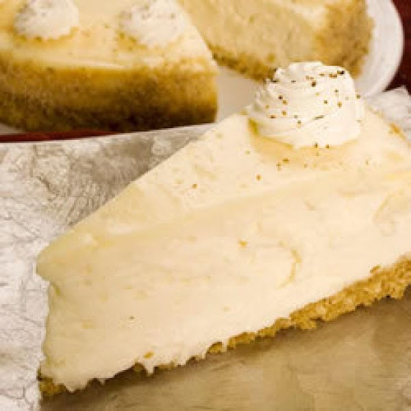 Egg Nog Cheesecake Recipe