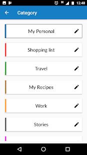 Safepad Notepad - náhled