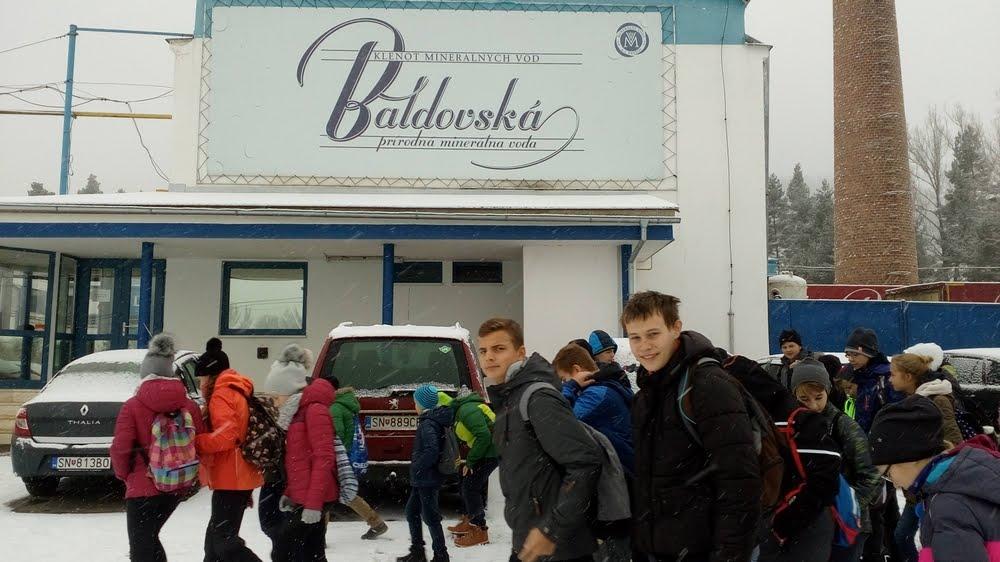 Exkurzia žiakov Zelenej školy v Baldovciach
