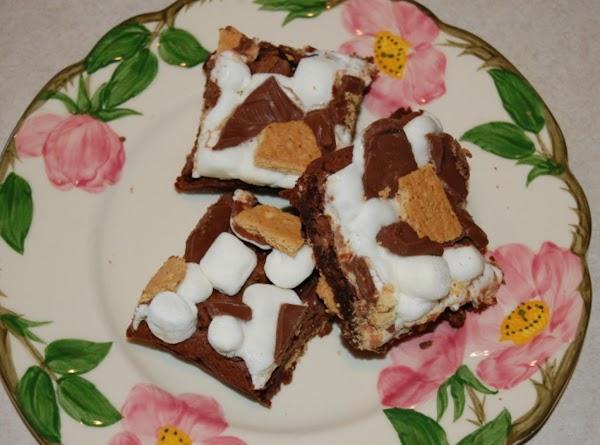 S'more Brownies. . . . Please! Recipe