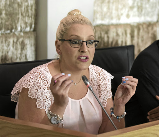 A DA leader has alleged that a position Natasha Mazzone was elected to did not exist before the congress.