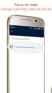 SemanTer3 - Text summarizer - náhled