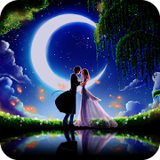 Romantic theme:  Moonlight Night Romance HD thames  Icon