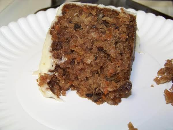 Mrs. Elliott's Carrot Cake Recipe