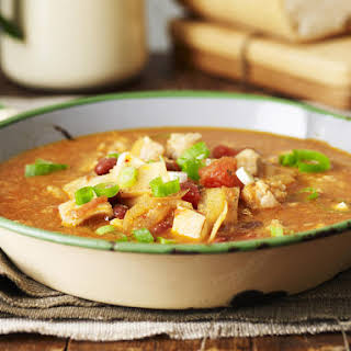 North African Chicken and Kidney Bean Soup.