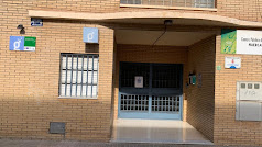 Fachada del centro Guadalinfo en la localidad de Huércal de Almería.