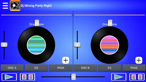 Dj Mixing Party Night
