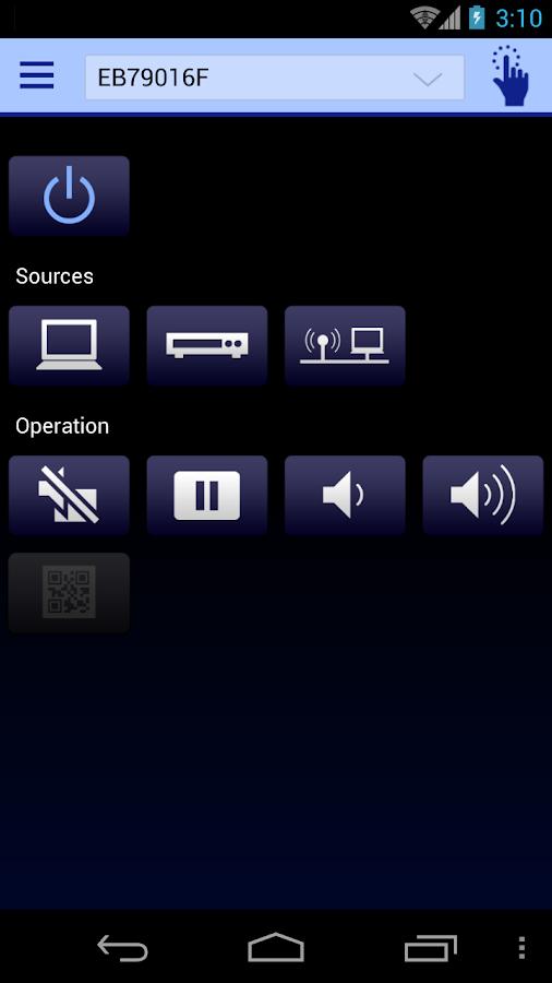 Epson iProjection- screenshot