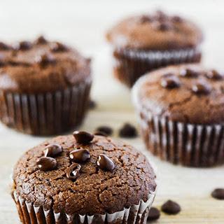 Carob Muffins (Vegan, Gluten-Free).