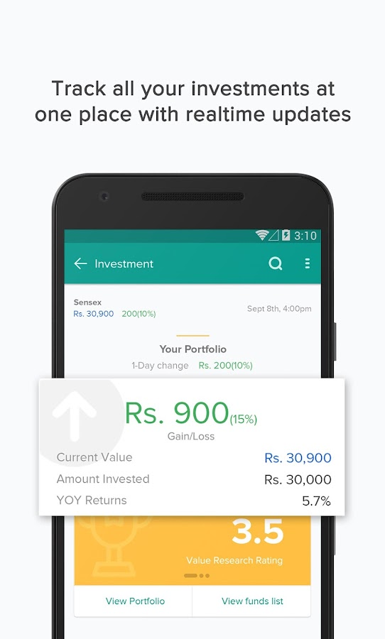 Your Personal Money Manager- screenshot