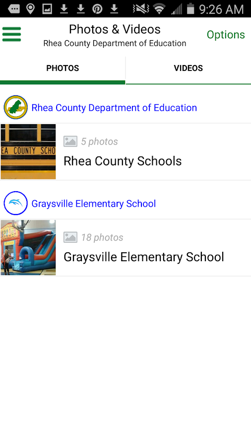 Rhea County Schools- screenshot