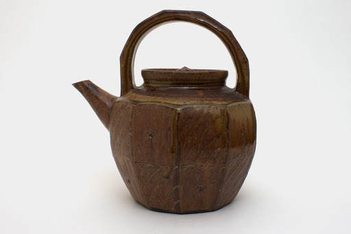 Mike Dodd Large Ceramic Tea Pot 06