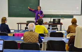 """Photo: Curso: """"El cuerpo y la espiritualidad cristiana"""", con MARÍA JOSÉ MARIÑO PÉREZ - Ávila, 27 al 31 Octubre 2014 - España - Foto: IDJMP - Todos los Derechos Reservados CITES - Universidad de la Mística - http://www.mistica.es"""