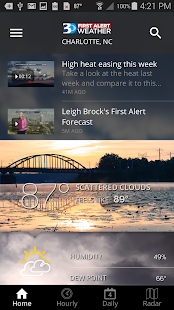 WBTV First Alert Weather- screenshot thumbnail