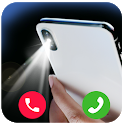 Flash on Call and SMS: Flashlight alert icon