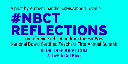 #NBCT Reflections ~ The Education Calendar Blog
