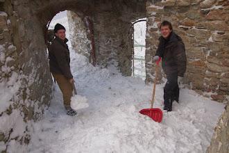 Photo: Čo sa už len dá v zime robiť na hrade?