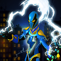 Electric Superhero Energy Jolts City Rescue 3D icon