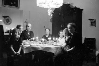 Photo: Kerstdiner bijHillegonda Louisa Henrietta Wijchgel van Schildwolde in Winschoten