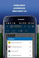 Screenshot of Fussball Transfers: Ergebnisse