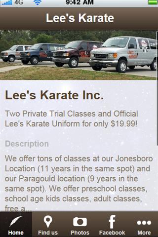Lee's Karate Inc.