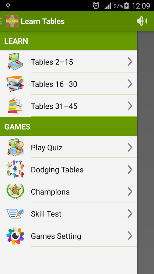 Learn Multiplication Tables - Android Apps on Google Play