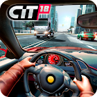 Car In Traffic 2018 icon