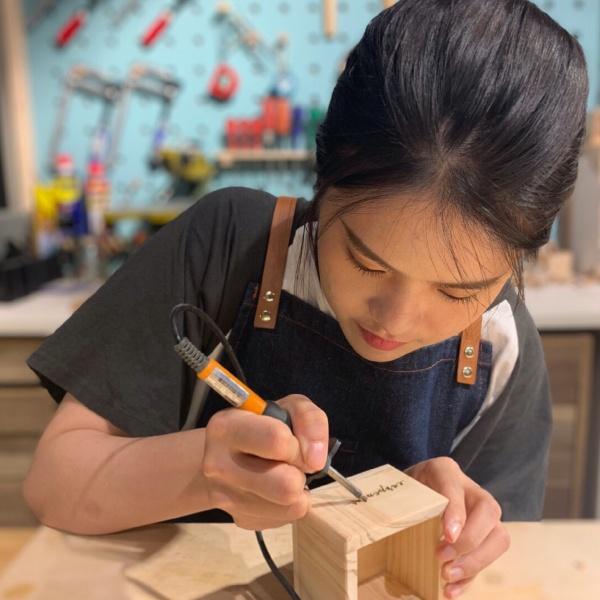 木工體驗-木匠兄妹-木盒