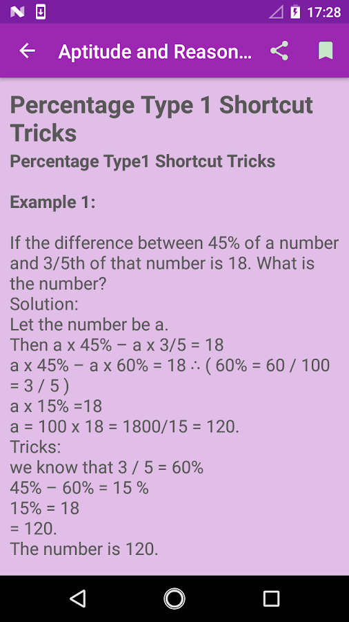 Aptitude Reasoning Tricks 2018- screenshot