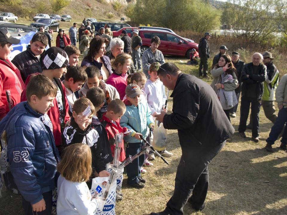 Риболовно училище 'Млади Видри' - село Долна Студена - 29.Октомври.2011