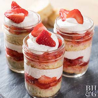 Strawberry Shortcake Parfaits Recipe