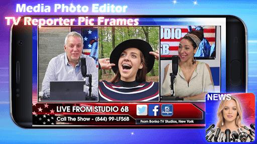 Media Photo Editor u2013 TV Reporter Pic Frames 1.0m 6