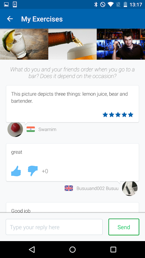 Language Learning - busuu- screenshot